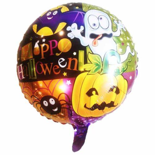 Halloween Folienballons rund