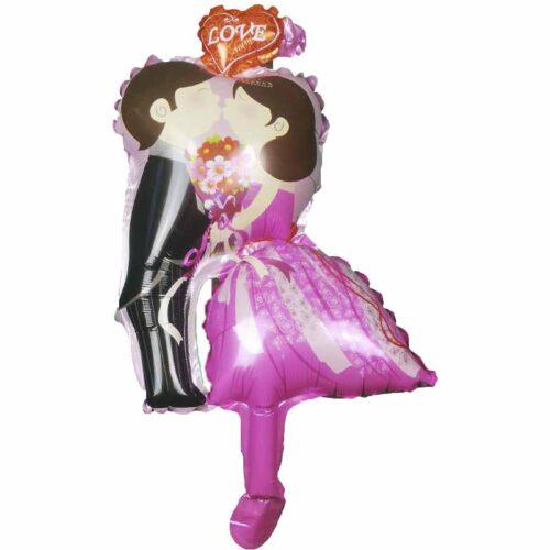 Mini Folienballon Hochzeitspaar