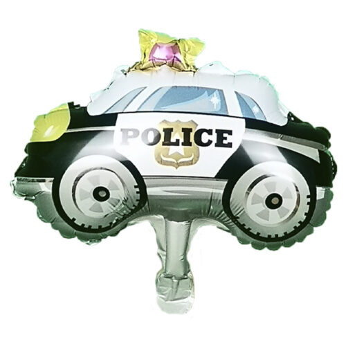 Folienballon Polizeiauto