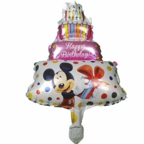 Folienballontorte Micky Maus Torte