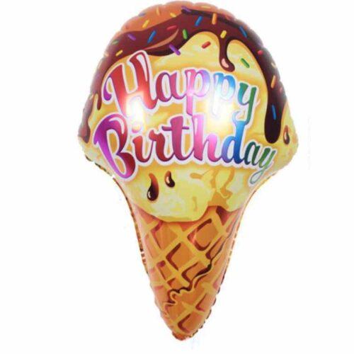 Happy Birthday Waffeleisballon
