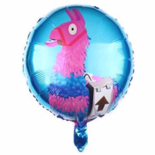 Lama Ballon rund
