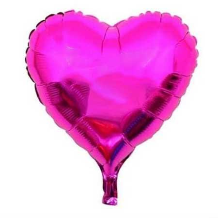 Folienballon-Herz-pink-45-cm