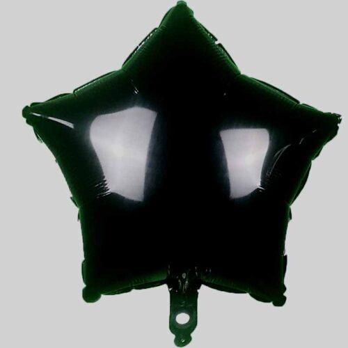 Folienballon Stern 45cm schwarz