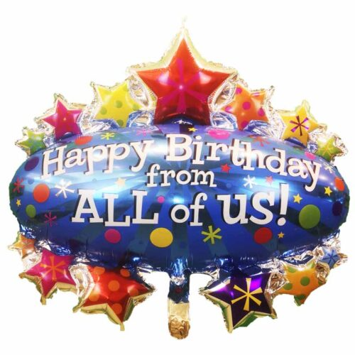 Happy Birthday from all of us