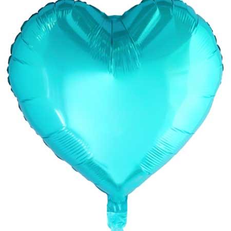 Herz-Ballon-45cm-tuerkis