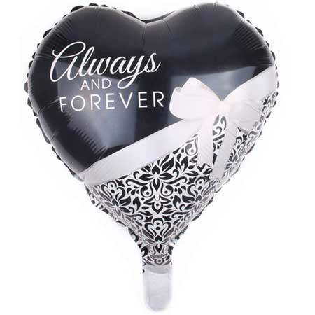 Hochzeit-Folienballon-Always-and-Forever